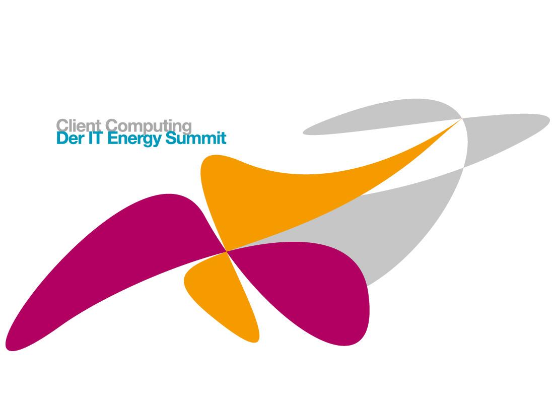 Logodesign und Corporate Design-Entwicklung für den IT Energy Summit, den Client Computing zusammen mit Innovation Norway 2011 ins Leben gerufen hat