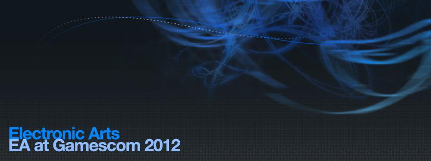 Webdesign und standardkonformes Frontend-Coding des viersprachigen Messewebauftritts von EA auf dem weltweit größten Messe- und Event-Highlight für interaktive Spiele und Unterhaltung – der gamescom 2012 in Köln