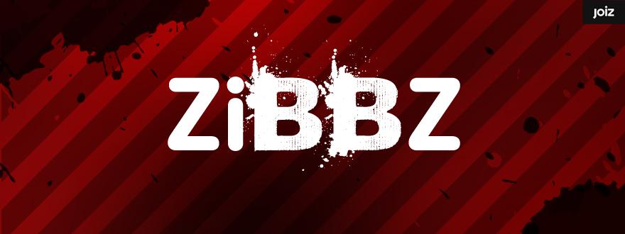 """Von okamo aus Berlin gestaltetes Format-Logo-Design der Fernsehshow """"ZiBBZ"""" des Schweizer Web- und Fernsehsenders JOIZ"""
