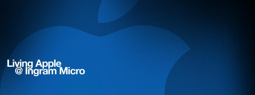 Webdesign und Illustrationen für das passwortgeschützte Fachhändler-Portal für Apple-Produkte »Living Apple @ Ingram Micro« von Ingram Micro