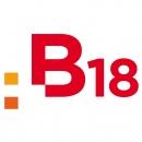 Corporate Design · Gesundheitszentrum B18 � Corporate Design mit Webdesign, Fassadengestaltung, Schildersystem u.v.a.m für das 2010 gegründete Gesundheitszentrum B18 in der Badenschen Straße 18 in Berlin Wilmersdorf