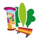 Printdesign · MittendrIn Berlin! Dokumentation 2012/13: Design und Druckabwicklung der Dokumentation des Wettbewerbsverfahrens 2012/13 von «MittendrIn Berlin! Die Zentren-Initiative« als DIN A3-Kalender für das Jahr 2014