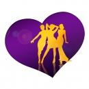 """Logodesign · Sat.1 «Promi-Singles»: Logodesign für die Sat.1 Doku-Soap """"Promi-Singles"""""""